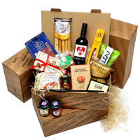 Wonderful Sweet N Savory Food Hamper<br>