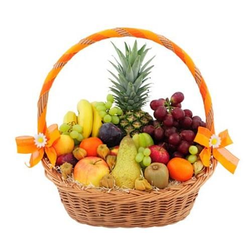 Graceful Fruit Magic Basket of Fruits<br>