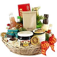 Yummy Moods of Happiness Gift Basket<br>