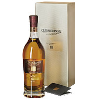 Awe-Inspiring Glenmorangie Highland Single Malt Scotch Whisky 18 Years Old extremely Rare N Whisky-Fibel<br>