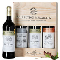 Energetic Bordeaux Collection MEDAILLES in Gold, Silver N  Bronze<br>