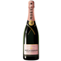 Attractive Moet N Chandon Rose Imperial Breeding<br>