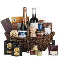Exquisite French Gourmet Medley Gift Basket<br>