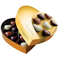 Incredibly Smart Celebration Basket of Godiva Chocolates<br>