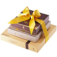 Brilliant Godiva Chocolate Tower<br>