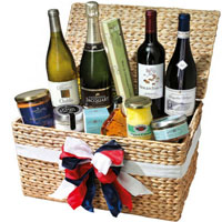 Welcoming Something For Everyone Gift Basket<br>