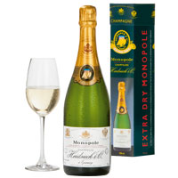Enigmatic Festive Ambiance Heidsieck Monopoly Champagne