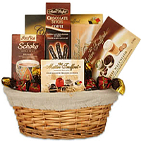 Welcoming Chocolate Desire Gift Basket <br>