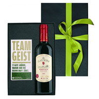 Classic 1 Bottle of Teamgeist Noble Bordeaux Red Wine (12% Vol.)