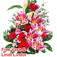 Joyful Personal Touch Bouquet of Mixed Flowers<br>