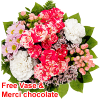 Special Perfectly N Lovely Multicolored Flower Bouquet<br>