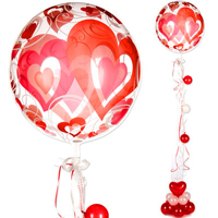 Big Non-Poisonous Heart Shaped Balloon<br>