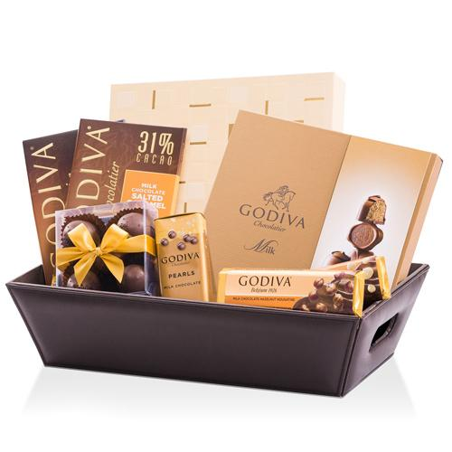 Splendid Fineness Godiva Chocolate Treat Hamper