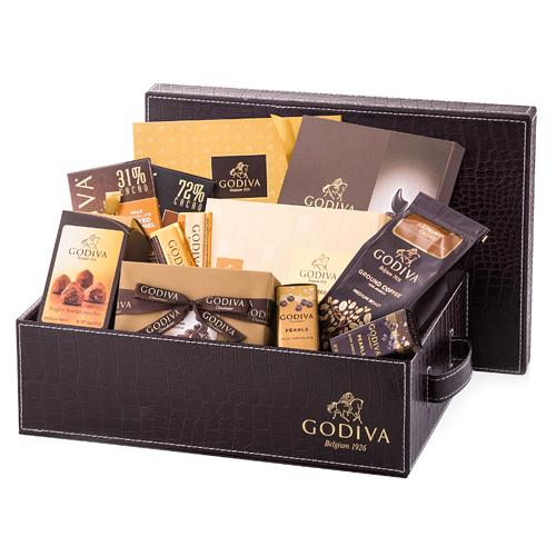 Toothsome Chocoholics Selection Godiva Treat Hamper