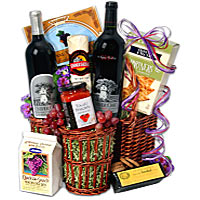Eloquent Goodies Gift Hamper with Santa's Blessings