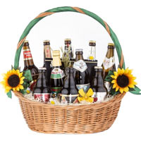 Amazing Gift Basket of Beer