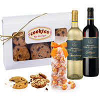 Wines with Spiced Cookies and Truffle Chocolates