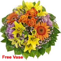 Enchanting Mixed Flower Bouquet